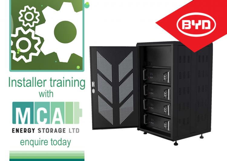 Battery installers workshops run by MCA Energy Storage Ltd